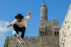 Skateboarding in Israel