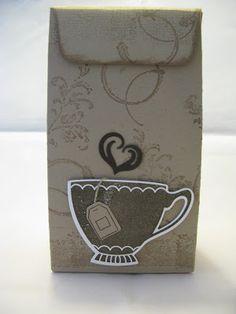 Stampin mit Scraproomboom: Für Tee-Freunde