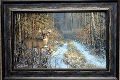 Don Kloetzke Prime Time Deer Art Print-Framed
