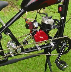 BUILD YOUR OWN [GAS ENGINE] PEDALCHOPPER KIT's #1 thru #6 - HIGHER THE NUMBER / HIGHER THE PERFORMANCE - PedalChopper 4 Wheel Bicycle, Bicycle Engine Kit, Gas Powered Bicycle, Bike Motor Kit, Go Kart Kits, Chopper Bike, Mini Chopper, Diy Go Kart, Lowrider Bicycle