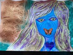 Hybrid Alien Woman transformational in her Expression