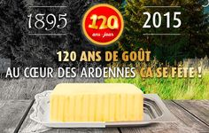 """120 ans pour le beurre """"Carlsbourg"""". #beurre #luxembourg #belgique #business #gastronomie Luxembourg, Dairy, Cheese, Business, Food, Belgium, Butter, Fine Dining, Meal"""