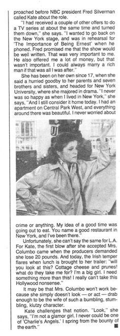 NY Daily News TV Week Feb. 25-March 3, 1979 www.totallykate.c...  Page 2 Kate Mulgrew, 25 March, Daily News, Star Trek, Tv Series, Starship Enterprise