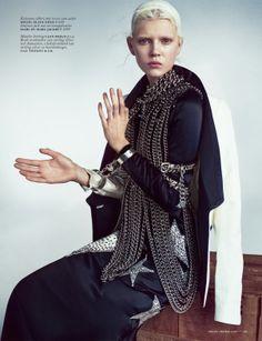 Ola Rudnicka by Boe Marion for Vogue Netherlands April 2014