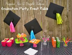 Fiesta Friday/Real Party - Headed For A Bright Future Neon Graduation Party