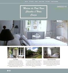 Stay In Couiza - a nice new website for a Chambre d'Hotes in Couiza.