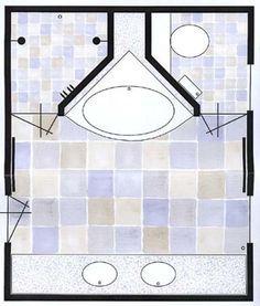 inspiratie kleine badkamer wasmachine hoekbad - Google zoeken
