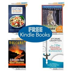 Free Kindle Books: Eating Gluten-Free on a Budget, The 7-Day Prayer Warrior Experience, plus more!