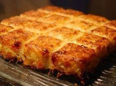 Gâteau de Pommes de Terre aux Oignons - La cuisine de Stéphanie