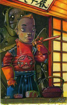 """illustration """"yuri no kokoro"""" on Behance"""