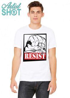 f493c6cf0 Custom Resist T-shirt By Designbysebastian - Artistshot