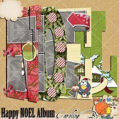 Happy Noel 8x11 QPs Album NOEL