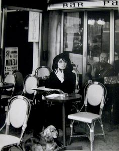 Café, Boulevard du Montparnasse, 1976 by Izis
