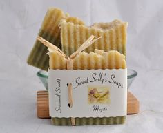 Sweet Sally's Soaps - Mojito!!  I seriously want everything in this lady's shop. Someone - hold me back!