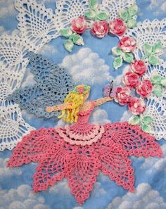 Crochet Fairy Pineapple Motif Doilly