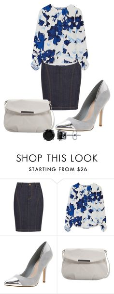 """""""S2"""" by may-nimo on Polyvore featuring Burberry, Oscar de la Renta, RMK, MANGO and BERRICLE"""