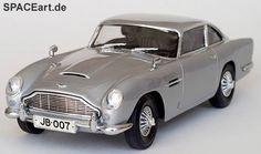 James Bond: Goldfinger - Aston Martin DB5, Modell-Bausatz ... spaceart.de/produkte/jbd001.php