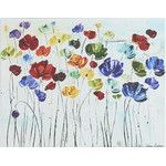 Lilies Painting Print on Canvas