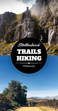 Come spend a day in the open air just outside of Stellenbosch. There are hiking options for people of every fitness level. Backpacking Trails, Hiking Routes, Stuff To Do, Things To Do, Worldwide Travel, Get Outdoors, Amazing Adventures, Vacation Trips, Travel Around The World