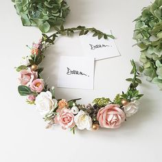 Delicate floral composition! Perfect for your wedding, photoshoot or other celebrations. Very nice blush colors ❤ Ribbon is included. The size of the wreath is adjustable with the ribbon. Lightweight and durable. The item will be gift packed. Wonderful flower crowns for bridesmaids
