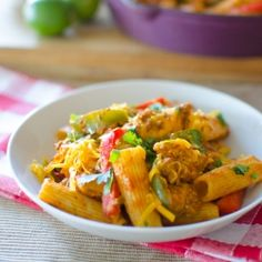 Fajita Chicken Pasta