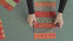 http://QNNtv.com/quilty: We have the perfect beginner quilt on the show today – the Coin Quilt. This quilt is a great scrap buster and works great for puttin...