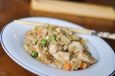 Andrew and Kori: Chicken Fried Quinoa