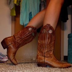 Wear with daisy dukes.... Rag stock in uptown MN (used cowboy boots for $10)