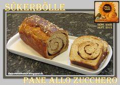 Sweet and That's it: Sûkerbôlle - Suikerbrood - Pane allo Zucchero Banana Bread, Breads, Yummy Food, Baking, Future, Sweet, Desserts, Recipes, Bread Rolls