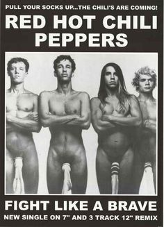 Red Hot Chili Peppers Socks Music Poster 24x33 – BananaRoad