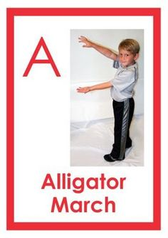 Product Review: The ABC's of Movement – Movement Flash Cards That Focus on Learning the Alphabet  - pinned by @PediaStaff – Please Visit ht.ly/63sNtfor all our pediatric therapy pins