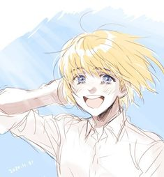Animes Yandere, Fanarts Anime, Anime Manga, Anime Art, Ereri, Eren X Armin, Aot Characters, Titans Anime, Attack On Titan Fanart