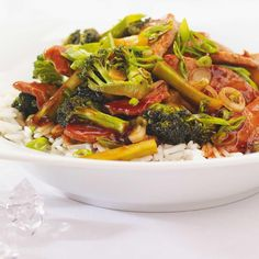 Pork and Broccoli Stir-Fry Pork Recipes, Lunch Recipes, Asian Recipes, Whole Food Recipes, Cooking Recipes, Ethnic Recipes, Pork Stir Fry, Stir Fry Dishes, Food Dishes