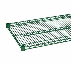 "Thunder Group CMEP1836 Wire Shelves 18""X36"" Heavy Duty Green Epoxy NSF, 2 pcs by Thunder Group. $17.75. 12. Shelving Wire 18"" x 36"" heavy duty green epoxy finish NSF - - SOLD IN SET OF 2"