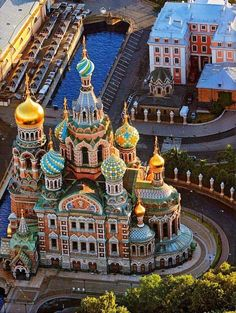 Church of The Saviour of Spilled Blood St. Petersburg, Russia