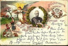 GRUSS AUS CARD WITH PRINCE FREDERICK, UDB