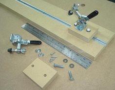 Guide/serre-joint à faire soi-même / Shopmade Guide Clamp | Atelier du Bricoleur (menuiserie)…..…… Woodworking Hobbyist's Workshop
