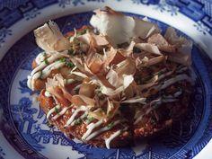Prawn toast okonomiyaki at Shackfuyu, Soho