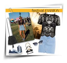"""""""Festival Fashion 2017"""" by mk-style ❤ liked on Polyvore featuring River Island, Mosmann, Jil Sander and Gucci"""