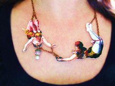 shrinky dinks, chain... now... to Cirque de Soleil!!!