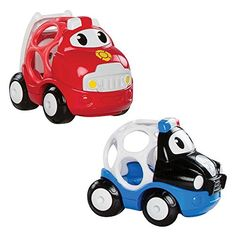 Oball Go Grippers 2 Pack Vehicle Small Car Set - Style