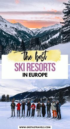 The Best Ski Resorts in Europe. Planning a ski trip in Europe this winter but not sure where to go? This guide has it all! With Best of the Alps we travelled to Lech Zurs and St Anton am Arlberg in Austria, and Davos in Switzerland. This guide looks at all the best ski spots, where to eat, where to stay and more! #davos #stanton #lechzurs #austria #switzerland #europe #skitrip #skiingineurope
