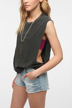 Truly Madly Deeply Show Some Muscle Tank Top Online Only