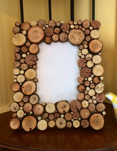 5x7 Wood stick circle disc end cut photo by CatskillRevelDesigns, $49.00
