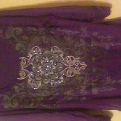 Plum embellished tunic Plum embellished tunic Tops Tunics