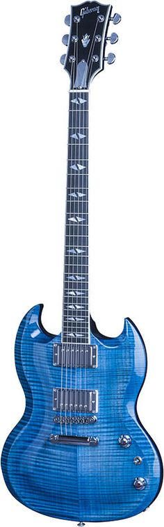 Gibson SG Supreme 2016 Limited Ocean Water