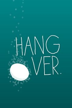 """Hangover"" iPhone wallpaper from Bambu"