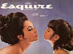 Elizabeth Taylor with daughter Liza Todd for Esquire Magazine, November 1964.