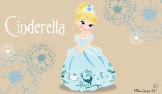 Young princess Cinderella
