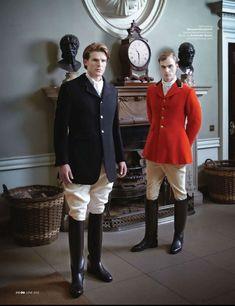 London Collections: Men - GQ UK by Robert Fairer, June 2013